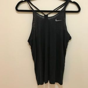 Nike Black Racerback Workout Tank
